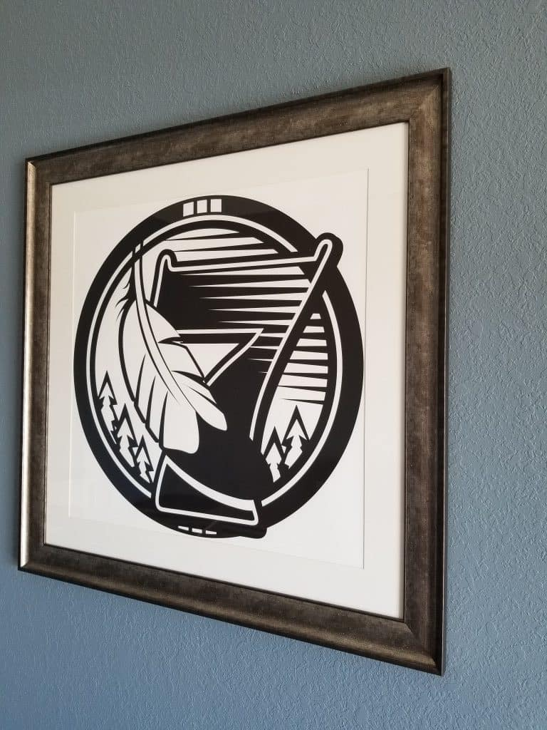 Custom artwork of the 7 Clans Logo